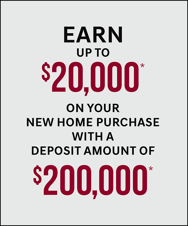 Deposit upto $20,000 and earn upto $200,000 cash back