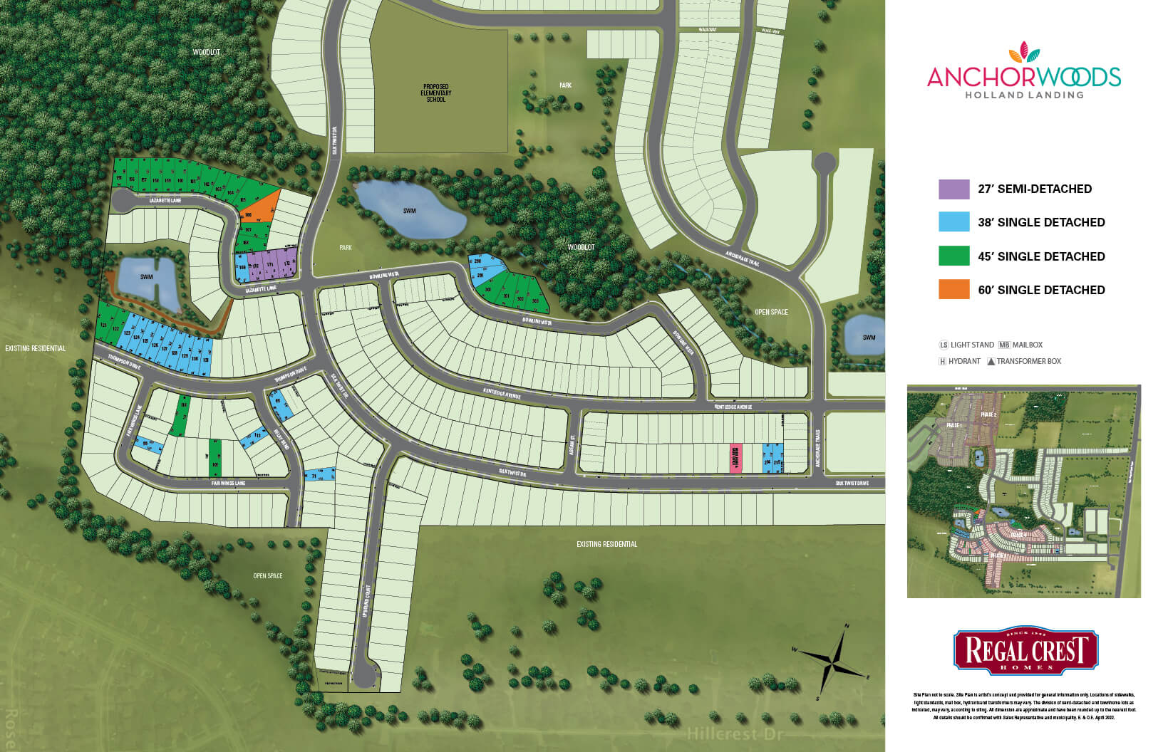 Anchor Woods Site Plan