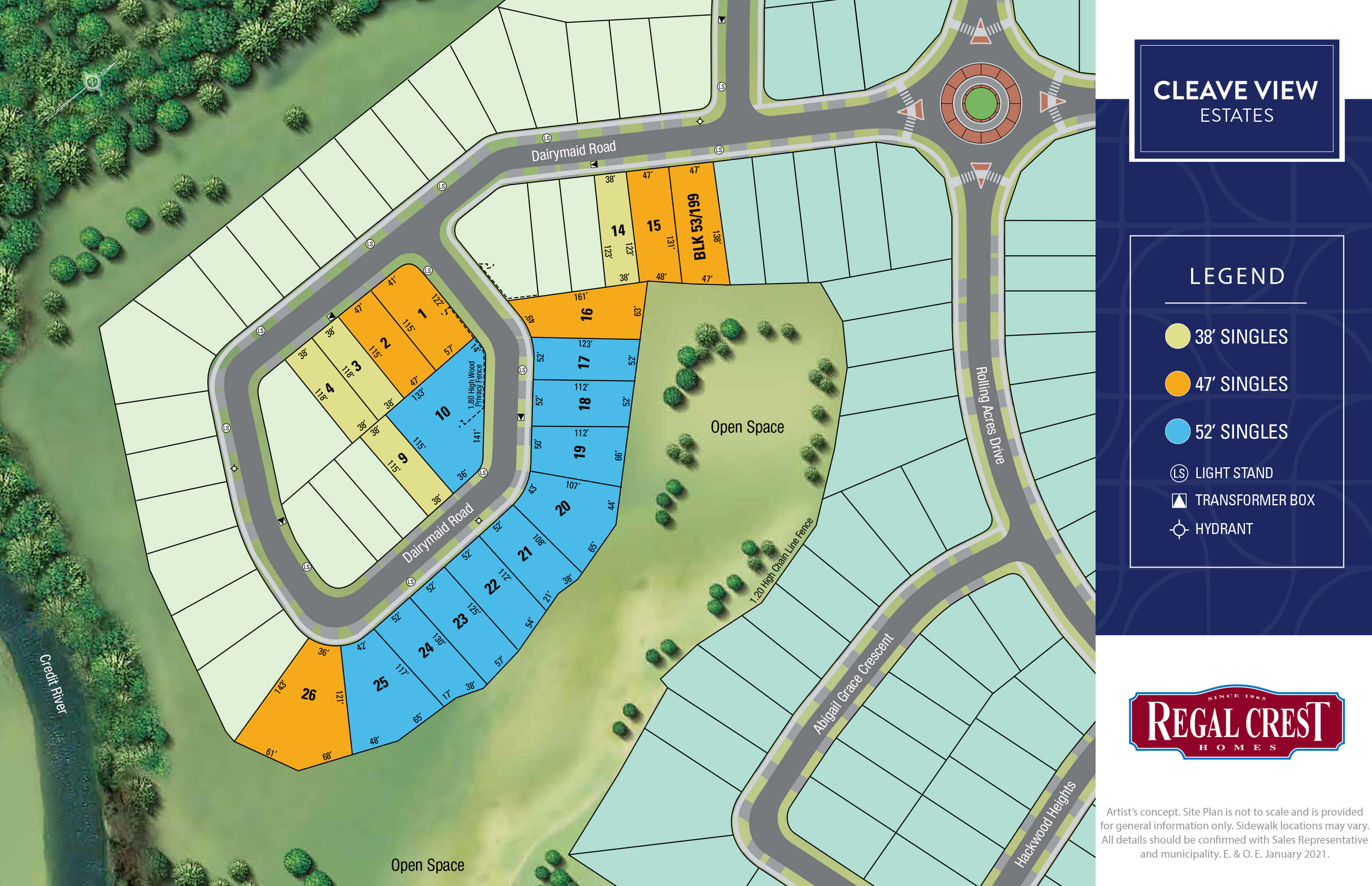 Cleave View Estates Site Plan