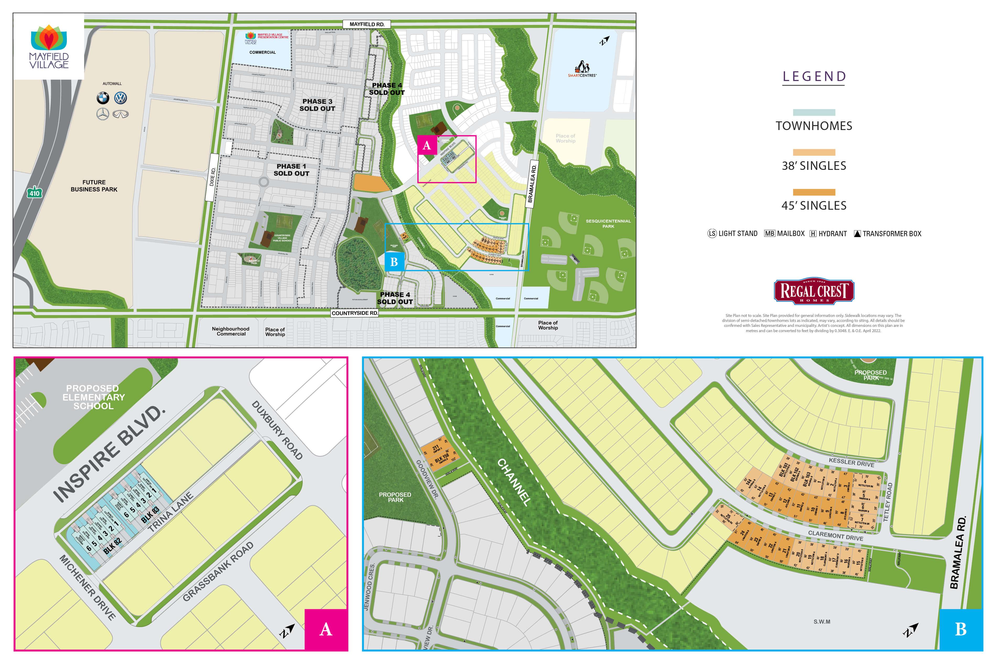 Mayfield Village Site Plan