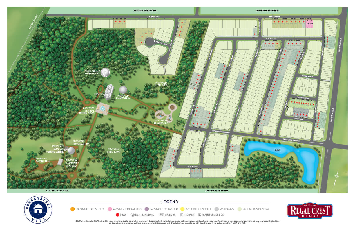 Observatory Hill Site Plan