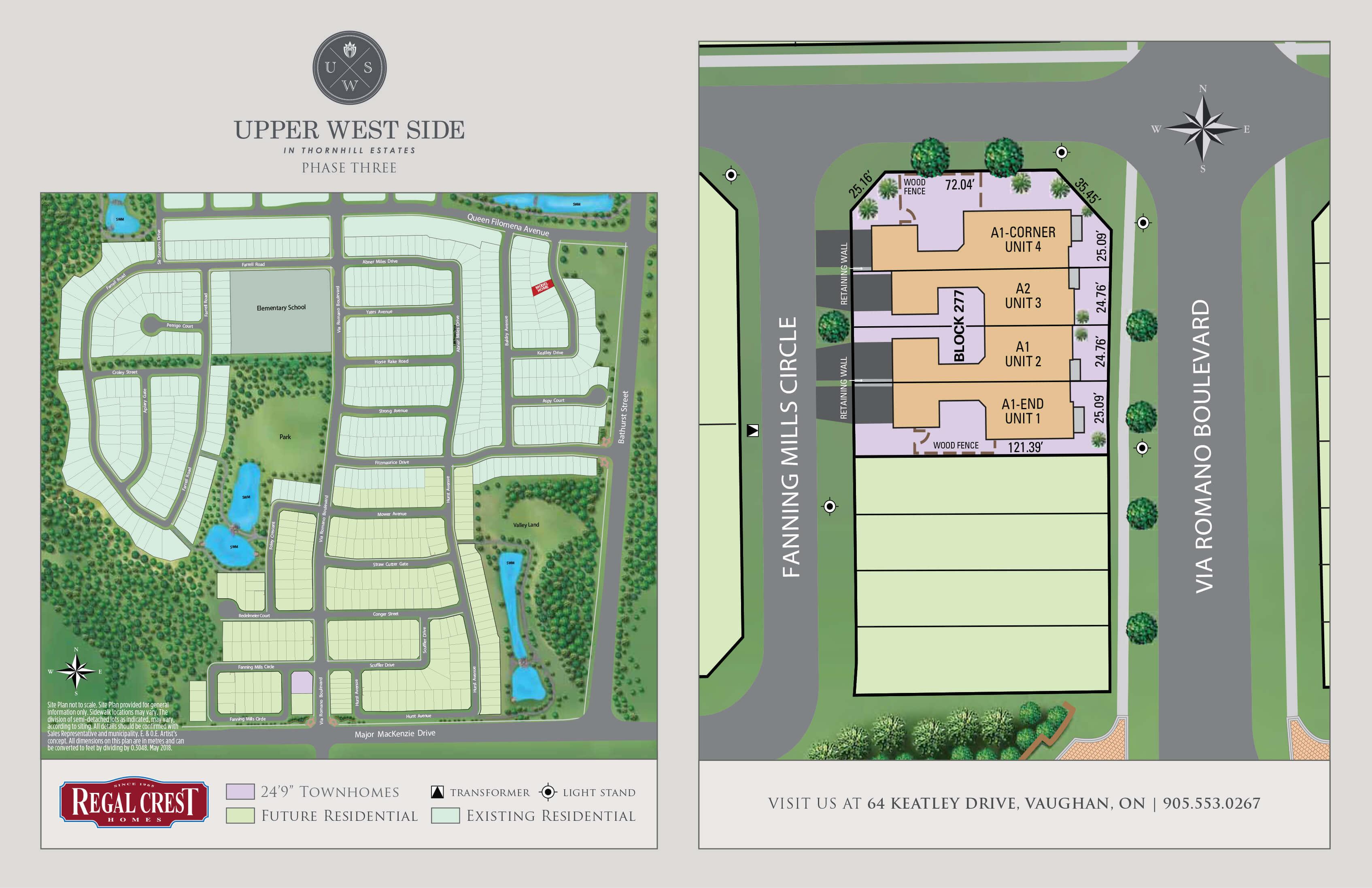 Upper West Side Site Plan