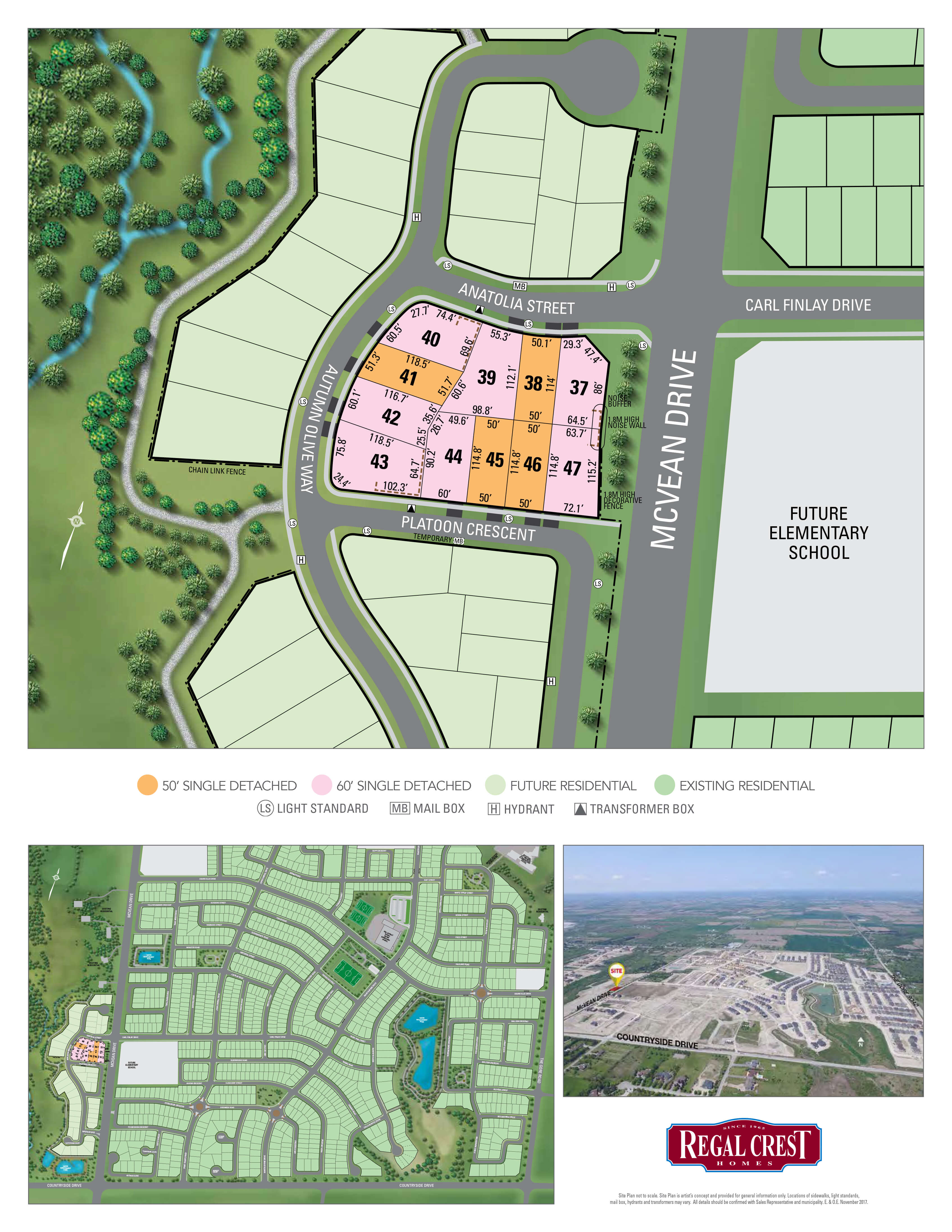 Vales of the Humber Site Plan
